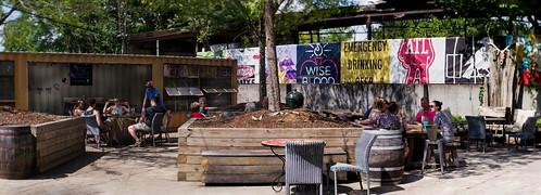 Wild Heaven Beer patio