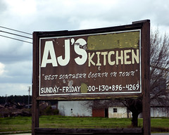 AJ's Kitchen, Adel (Mike McCall) Tags: copyright2019mikemccall photography photo image usa culture southern america thesouth unitedstates northamerica south georgia georgiahighway37 sr37 ga37 gahwy37 hwy37 highway 37 roadtrip journey road trip project theme history heritage tradition cook county adel food cooking soulfood cuisine country ajs kitchen restaurant bestsoutherncookingintown