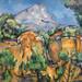 La Montagne Sainte-Victoire de P. Cézanne (Centre Pompidou, Paris)