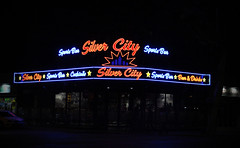The Silver City Sport Bar (big_jeff_leo) Tags: spain europe benidorm neon lights pub sign night