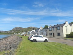 Shieldaig, West Coast of Scotland, May 2019 (allanmaciver) Tags: shieldaig west coast scotland green grass weather clouds north 500 nc500 allanmaciver