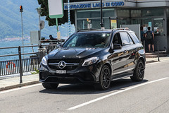 Switzerland (Valais) - Mercedes-AMG GLE 63 S W166 (PrincepsLS) Tags: switzerland swiss license plate vs valais italy tremezzo spotting mercedesamg gle 63 s w166