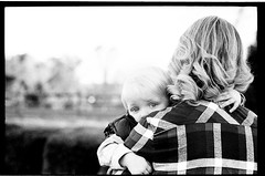 ChristaBenFamilyFall2016009 (Johnny Martyr) Tags: leica leicam6 leitz leicam6ttl leicam6ttl85 family portrait bw look composition see eyes exposure glow child kodak grain mother hc110 highlights blonde epson kodaktrix plaid shoulder blown blackandwhitefilm v500 kodakhc110 hc110b kodakhc110b leicaglow epsonv500 life cute film 35mm happy hug happiness rangefinder safety cuddle safe comfort hold leitz90mmf2summicron leica90mmsummicron leica90mmsummicronpreasph leica90mmsummicrone55