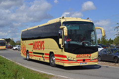 YX17 OGV: Andrew, Tideswell (chucklebuster) Tags: yx17ogv andrews tideswell volvo b8r plaxton panther