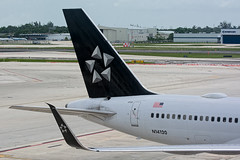 29570 • Star Alliance 757 (N14120) (Visual Approach Graphics & Imaging) Tags: fortlauderdale fll kfll ual ua unitedairlines staralliance 757200 757224 wl