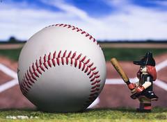 Baseball Batwoman (Jezbags) Tags: baseball batwoman katekane gotham gothamknights dc dclego legodc pitch ball lego legos toy toys canon canon80d 80d 100mm macro macrophotography macrodreams macrolego