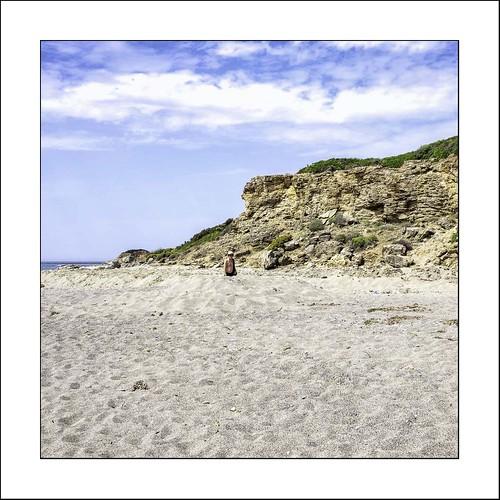 Dans le sable...