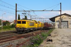 Trio d'infra ! (railmax07) Tags: train ferroviaire infra bb22200 bb69200 bb75000 plats trémies cantonnement portes culmontchalindrey tain