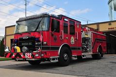 Levittown Fire Department Engine 627 (Triborough) Tags: ny newyork nassaucounty levittown lfd levittownfiredepartment firetruck fireengine engine engine627 pierce enforcer