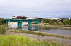 Irish Rail / Iarnród Éireann 207 Laytown (OliverHeckmann) Tags: irish rail iarnród éireann 207 class201 gmemd jt42hcw enterprise dublinconnolly belfast river nanny laytown