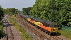Preston Dock Tanks (garstangpost.t21) Tags: colasrailfreight 56087 56078 6e32 lostockhalljunction prestondocks lindsey