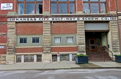 Kansas City Bolt-Nut & Screw Co., Kansas City, MO (Robby Virus) Tags: kansascity mo missouri westbottoms ghost sign signage steel bolt boltnut nut co company plant factory building