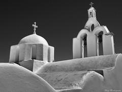 Orthodox church in Greece (mary.th) Tags: black white church orthodox paros island greece architecture