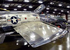 """North American F-100A Super Sabre 3 • <a style=""""font-size:0.8em;"""" href=""""http://www.flickr.com/photos/81723459@N04/48233126262/"""" target=""""_blank"""">View on Flickr</a>"""