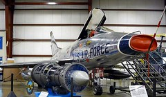 """North American F-100A Super Sabre 1 • <a style=""""font-size:0.8em;"""" href=""""http://www.flickr.com/photos/81723459@N04/48233131617/"""" target=""""_blank"""">View on Flickr</a>"""