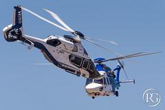 """Volte-face aérien"". Airbus H160 & H175 - Meeting des 80 ans du site de Marignane. (Raphaël Grinevald • Photographe) Tags: airbushelicopters airbus h160 h175 ec175 fenestron safran helicopter engines engineering helicopters blueedge blade pale onera arrano biplan prototype france marignane eurocopter aérien aerial aérospatiale site d500 nikon"