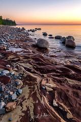 Lake Superior Sunset (jonwhitaker74) Tags: