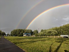 Double Rainbow in Minsk