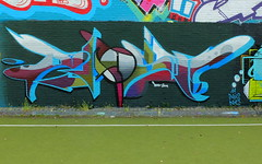 Helderheid - Blast (oerendhard1) Tags: graffiti streetart urban art rotterdam oerendhard zuid helderheid blast
