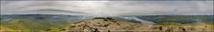 Ben Lomond Summit Panoramic (Phil Blackburn) Tags: uk panorama mountain mountains nature outside scotland outdoor hiking benlomond munro sonya7ii trekking trek panoramic stirling ardess lomond green landscape countryside highlands altitude