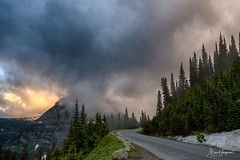 Into the unknown (Marc Haegeman Photography) Tags: glaciernationalpark montana usa nationalparksusa marchaegemanphotography landscape mist morningmood goingtothesunroad roadtrip nikond850