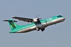 EI-FCZ ATR.72 600 Stobart Air Aer Lingus CS Named St Senan  Seanán BHX 27-06-19 (PlanecrazyUK) Tags: egbb birminghaminternational birminghamairport bhx international birmingham eifcz atr72 600 stobartair aerlinguscs namedstsenanseanán 270619