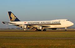 Singapore Airlines Cargo Boeing 747-412F 9V-SFM (RuWe71) Tags: singaporeairlinescargo sqsqc sincargo singapore boeing boeing747 b747 b747f b744 b747400 b747400f b747412 b747412f boeing747400 boeing747400f boeing747412 boeing747412f 9vsfm cn328981333 amsterdamschiphol amsterdamschipholairport schiphol schipholairport schipholamsterdam ams eham polderbaan widebody cargo runway freighter winglets cargoaircraft jumbo jumbojet queenoftheskies
