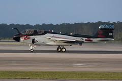 Northrop Grumman EA-6B Prowler 163033 (Jon Hylands) Tags: usa usmc america aircraft aviation military north airshow carolina aerospace prowler grumman northrop ea6b mcascherrypoint 163033 vmaqt1 ceremony deactivation