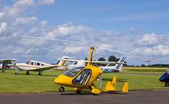 G-CHNI Orion, Scone (wwshack) Tags: egpt m24 magni magnim24 orion psl perth perthkinross perthairport perthshire scone sconeairport scotland gyrocopter gchni