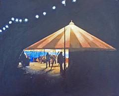 bar tent (oswaldamy) Tags: art acrylic towersey paintings music festival