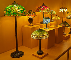 Tiffany Lamps (Whidbey LVR) Tags: lyle rains lylerains olympus em5ii decorative art tiffany florida winter park orlando museum nouveau stained glass