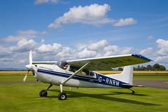 G-RNRM Cessna 185, Scone (wwshack) Tags: ce185 cessna cessna185 egpt psl perth perthkinross perthairport perthshire scone sconeairport scotland grnrm