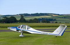 G-BXSP Grob 109, Scone (wwshack) Tags: egpt grobg109 psl perth perthkinross perthairport perthshire scone sconeairport scotland motorglider gbxsp
