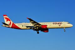 C-GHPJ (Air Canada rouge) (Steelhead 2010) Tags: aircanada rouge airbus a321200 a321 yyz creg cghpj