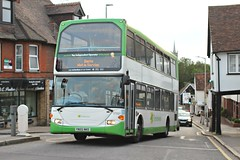 106 minutes later , it is back . (AndrewHA's) Tags: hertfordshire bishopsstortford bus stephensons rochford essex 643 yn55nke scania n94ud east lancs sorry not inservice second hand transdev london sovereign sle 36