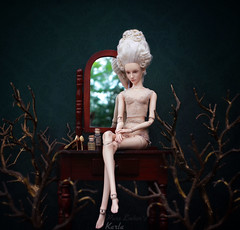 The trees 🌳 (pure_embers) Tags: pure laura embers porcelain bjd doll dolls england uk girl sensational karla pureembers photography photo ball joint portrait fine art beauty rococo branches trees dark