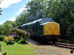 37142 Boscarne Junction (1) (Marky7890) Tags: 37142 class37 boscarnejunction bodminwenfordrailway cornwall heritage diesellocomotive
