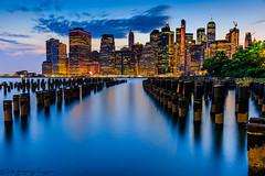 Manhattan at sunset (Gregory Faggion) Tags: newyork manhattan cityscape skyline sunset nyc