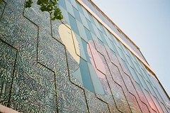 Giant Transition Mural | Edmonton (Enrique Marroquin) Tags: edmonton alberta olympus trip 35 film