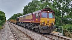 66143 (DBS 60100) Tags: 66143 ews dbcargo railvac