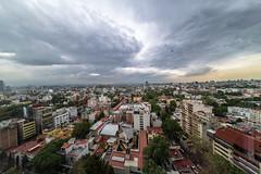 Poniente, Mexico City (ruifo) Tags: nikon d850 samyang 12mm f28 fisheye bower rokinon mexico city ciudad méxico cidade urban cityscape landscape urbano urbana cdmx df paisagem skyscraper skyscrapers skyline pano panorama weather tempo insurgentes sur mixcoac