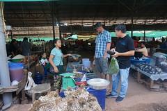 Staff buying food