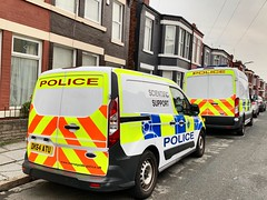 Merseyside Police Ford Transit + Connect (LGM999) Tags: police policevans merseysidepolice fordconnect fordtransit