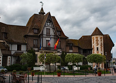 Mairie Deauville (phillipbonsai) Tags: deauville normandy france halftimberedbuilding