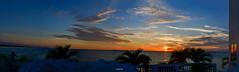 3 Bird Formation Flying Over Stunning Sunset Tampa Bay Florida - IMRAN™ (SOOC Panorama) (ImranAnwar) Tags: d850 nikon sunset nature water birds home panorama apollobeach florida windows seaside reflections palmtrees architecture tampabay imrananwar lifestyle saintpetersburg imran unitedstatesofamerica
