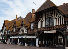 Deauville Fish Market (phillipbonsai) Tags: deauville normandy france halftimberedbuilding