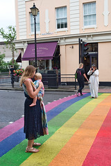 Photo Opportunity (daveseargeant) Tags: london pride crossing 2019 londonpride2019 leica x typ 113 street colour rainbow people baby photorgrapher candid lgbt luminar