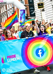 London Pride 2019 (The Burly Photographer) Tags: pride 2019 london lgbtq whitehall inclusive queer proud facebook