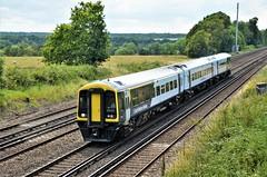 159017 (stavioni) Tags: class159 brel sprinter express dmu diesel swt swr south western railway west trains rail train multiple unit