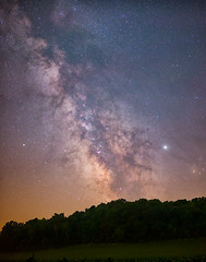 Summer is Here (Kirby Wright) Tags: milky way sagittarius antares jupiter saturn trifid lagoon nebula galaxy dust lanes core summer stars night sky astro astronomy astrophotography long exposure panorama tracked tracker equatorial ioptron skyguider pro nikon d700 rokinon 35mm f14 manfrotto tripod remote release corn field lightning bugs fireflies dark horse iowa county wisconsin rural countryside